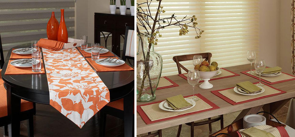 Placemats for dining room