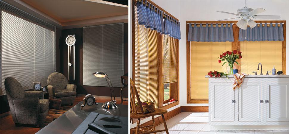 mini blinds - venetian blinds - aluminum blinds white blinds