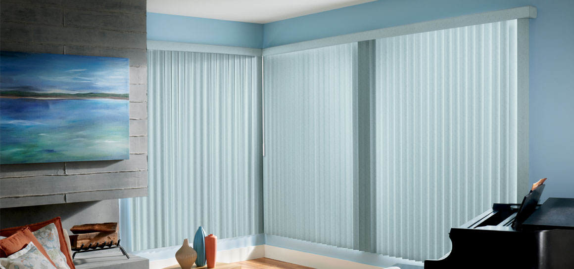 Graber Vertical Blinds Fabric Sheer Vinyl Windows