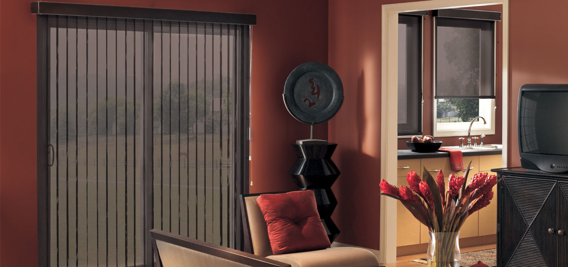 Graber Screen Vertical Blind