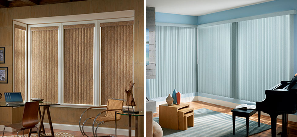 Vertical Blinds With Sheer Curtains