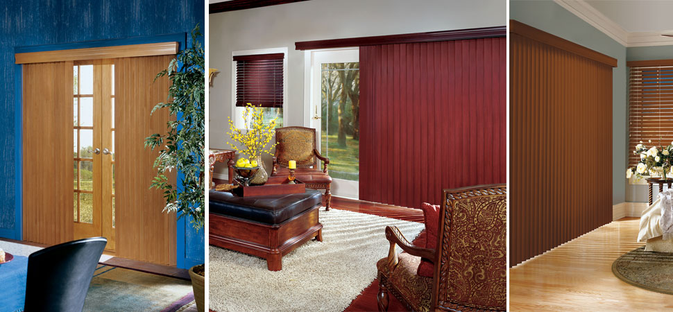 CROSSWINDS WOOD VERTICAL BLINDS The Warmth Of Wood