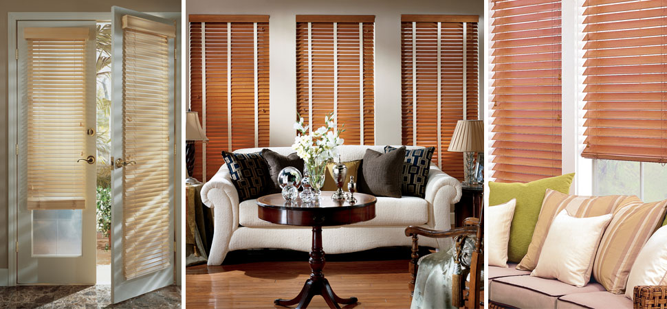 Wood Blinds I Faux Wood Blinds I Venetian Blinds