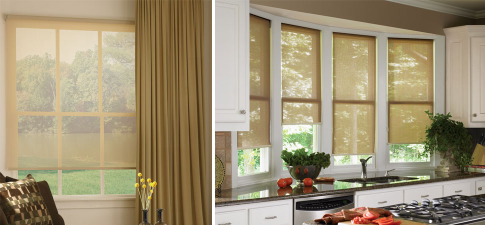 patio sun shades hunter douglas designer solar shades window panels light filtering roller shades outdoor curtains - Patio Sun Shades