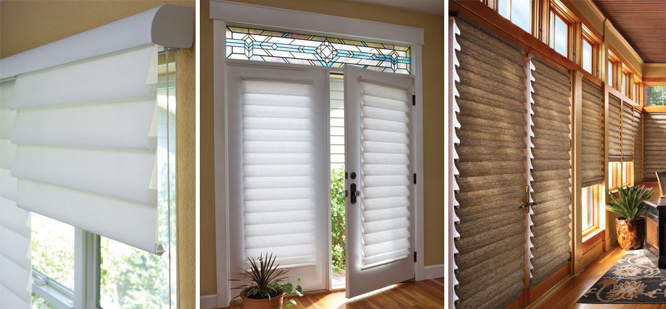 Hunter Douglas Vignette Roman Shades Windows Dressed Up