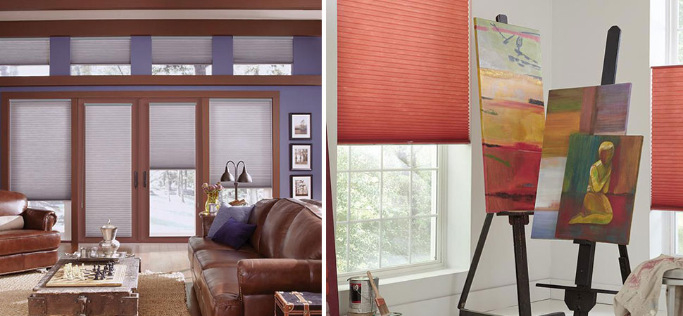 Cellular shades i pleated shades i honeycomb shades for Interior design lafayette la