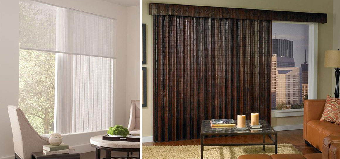 Custom Vertical Blinds I Lafayette Interior Fashions