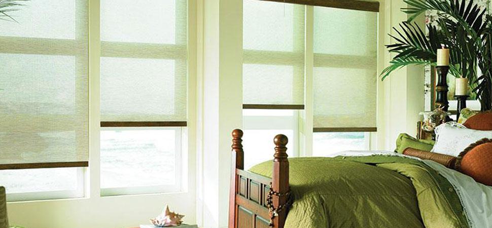 Sun shade curtains