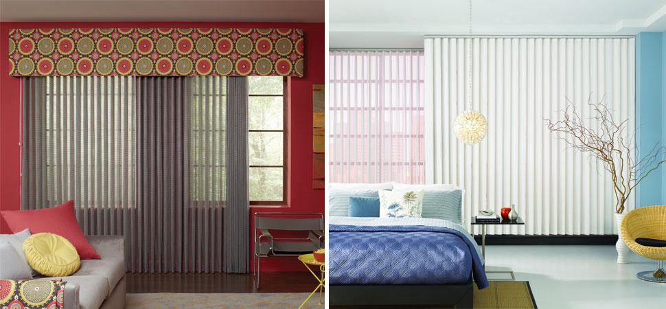 Custom Vertical Blinds I Lafayette Interior Fashions Windows