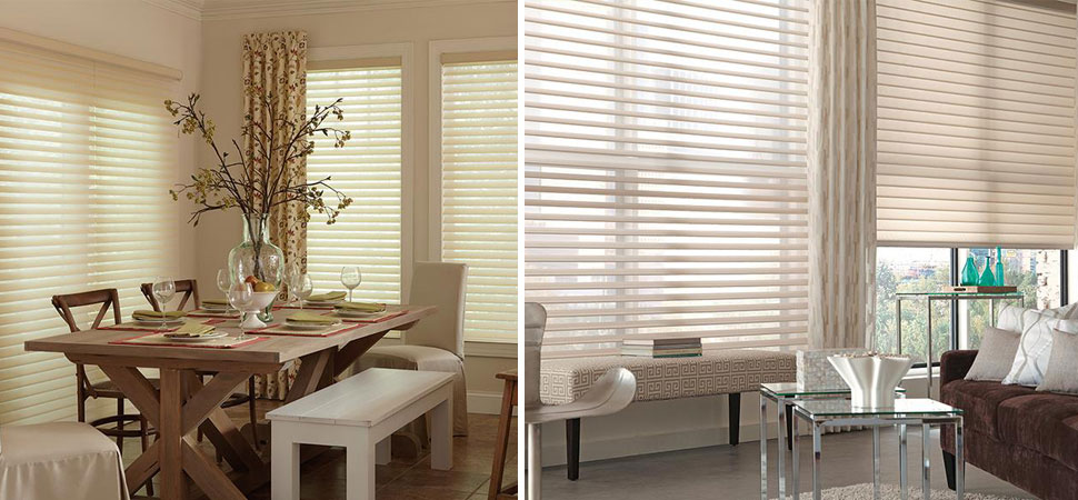 custom window shades - window shadingsLafayette Interior Fashions Tenera yellow shades dining room large window shades blinds