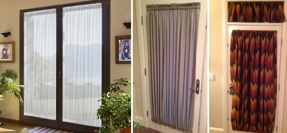 Custom Curtains For French Door Grommet Top