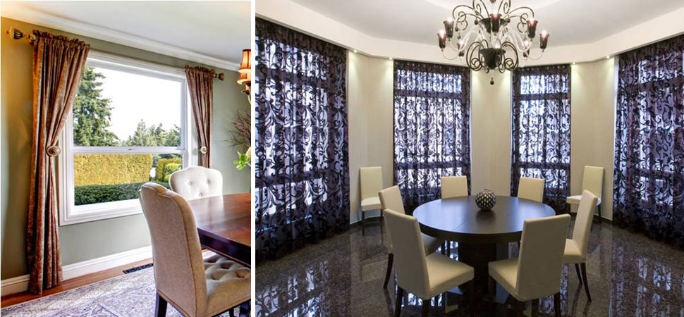 Custom Curtains Blackout Curtain Counrtry Sheer Purple Black Lace