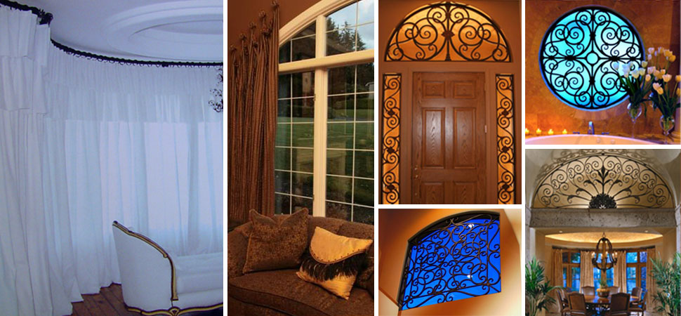 Custom Specialty Window Shades window grilles Wrought Iron Grilles Hexagon Specialty Shapes window grilles
