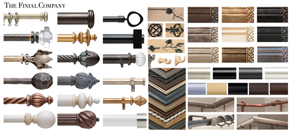 choices are endless as a result they have a broad mix of top quality hand crafted steel wood and resin drapery hardware and custom curtain rods