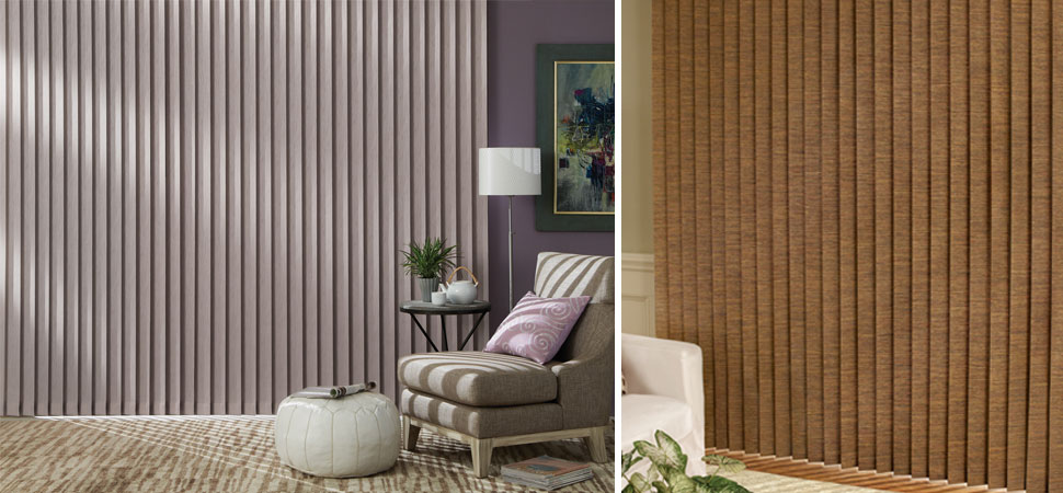 custom Hunter Douglas vertical blinds Somner Vertical Blinds aluminum blinds vinyl blinds