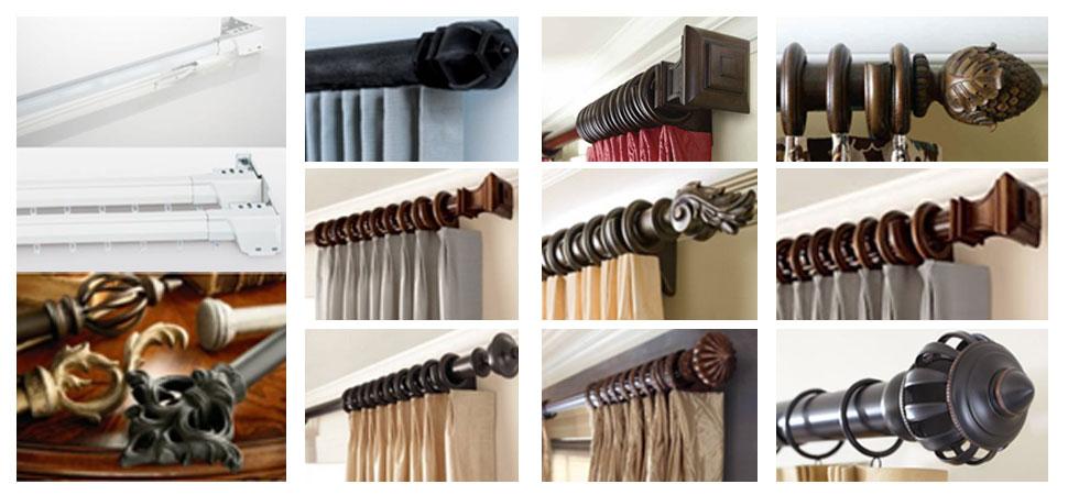 Kirsch Hardware Ι Curtain Rods Drapery