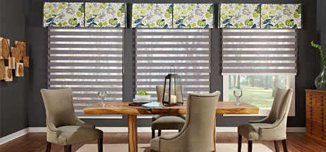 Lovely Home Decorating Ideas Dining Room Window Treatment Ideas Decor Design