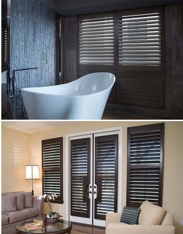 Shutter I Plantation Shutters I Wood I Vinyl I Faux Windows Dressed Up