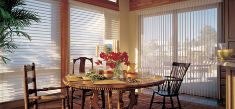 dining room ideas window coverings curtains fabric shades, fabric blinds