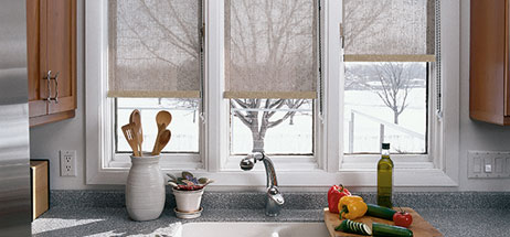 We Specialize in Custom Curtains  Drapes  Valances  Roman Shades  plus  Blinds  Shutters  Shades. kitchen ...
