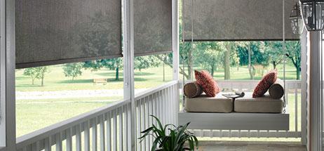 Patio Ideas I Outdoor Curtains I Solar Shades